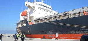 Karasu Limanı'ndan ilk ihracat gerçekleştirildi