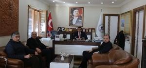 AK Partili başkanlardan Başkan Yalçın'a ziyaret