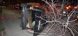 Yozgat'ta trafik kazası 1 yaralı