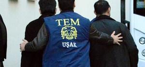 Uşak'ta FETÖ'den 25 polis tutuklandı