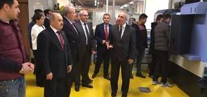 Vali Dağlı ASO Teknik Kolejini ziyaret etti
