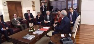 Edirne Belediye Başkanı Gürkan, Kılıçdaroğlu'nu ziyaret etti