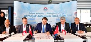 Maltepe Belediyesi ve Lübnanlı Belediyeler arasında kardeşlik anlaşması