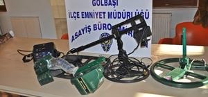 Adıyaman'da kaçak kazı yapan 3 kişi yakalandı