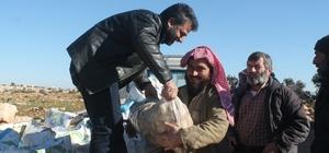 Haliliye'den Halep'e kardeşlik eli uzandı