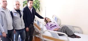 Büyükşehir'den hasta yatağı yardımı