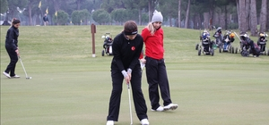 Kadın Golf Milli Takımı Antalya'da kampta