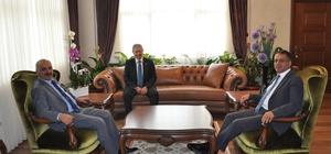 Başkan Dinçer'den Toroslar Kaymakamı Şahin'e ziyaret