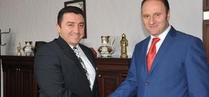 Yüksekokul Müdürü Doç. Dr. Sadoğlu'ndan Başkan Bakıcı'ya ziyaret