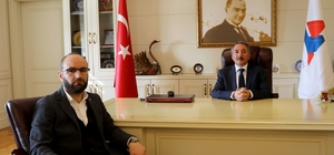 AK Partili Atmaca'dan Rektör Karabulut'a ziyaret