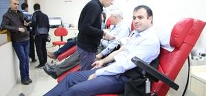 Basın Mensupları Kan Bağış Kampanyasına Destek Verdi