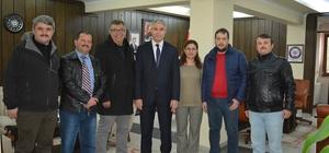 UGD Yönetim Kurulu, Uşak Emniyet Müdürü Ergüder'i ziyaret etti