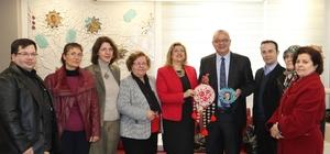 Kadın Kooperatifi'nden Başkan Ergün'e ziyaret