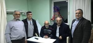 Başkan Yaman, Bilecik Devlet Hastanesinden tedavi gören hastaları ziyaret etti