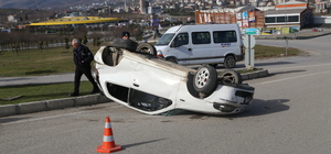 Samsun'da trafik kazaları