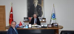 Gelibolu Belediye Başkanı Özacar'dan, Tekirdağ Büyükşehir Belediyesine ziyaret
