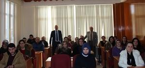 Alaçam'da girişimci adayları sertifikalarını aldı