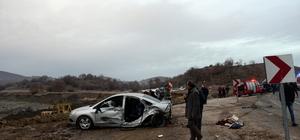 Tokat'ta zincirleme trafik kazası: 9 yaralı