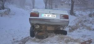Aşırı buzlanma kazaya neden oldu