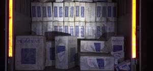Van'da 130 bin paket kaçak sigara ele geçirildi