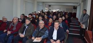 Sulama sistemlerinin desteklenmesi bilgilendirme toplantısı yapıldı