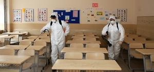 Sultangazi'de okullarda dezenfeksiyon çalışması