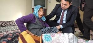 Kaymakam Avcı,  SYDV tarafından muhtaçlar için yaptırılan evleri ziyaret etti