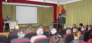 Tosya'da Meslek Liseleri ve Stajer Öğrenci sorunları masaya yatırıldı