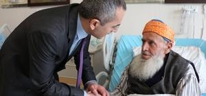 Tosya Kaymakamı Deniz Pişkin Devlet Hastanesini ziyaret etti