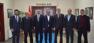 MÜSİAD yeni yönetimi, Başkan Toltar'ı ziyaret etti