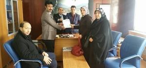 Karakeçili Belediyesi'nden iki şehit ailesine arsa