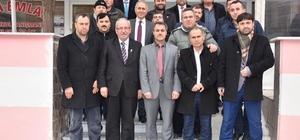 Başkan Albayrak Kapaklı Samsunlular Derneğini ziyaret etti