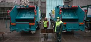 Gaziosmanpaşa'da ilçe temizliği için 15 yeni araç