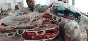 Okul müdürü Halepliler için yardım topladı