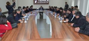 Milletvekili Şahin Yenice'de ziyaretlerde bulundu
