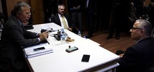 Milletvekilleri Şahin ve Uysal, Başkan Çaylı'yı ziyaret etti