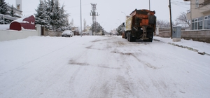 Kırşehir merkezde 12 köy yolu ile bağlantı kesildi