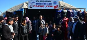 Şehit polis Sekin'in adı çadır kentte yaşayacak