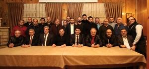 Güreş Federasyonu Başkanı Aydın, Akyazı'ya geldi