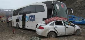 Tokat'ta trafik kazası: 3 ölü, 3 yaralı