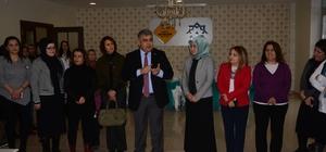 Başkan Özgüven'den kadın girişimcilere ziyaret