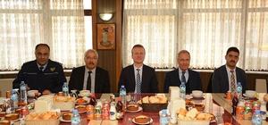 Başkan Acar, Şimşek'e verilen veda yemeğine katıldı