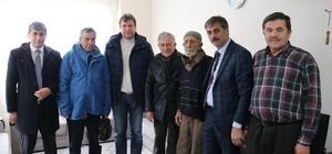 Başkan Alemdar, asırlık çınar'a misafir oldu