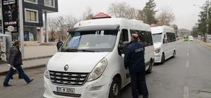 Büyükşehir Belediyesi'nden 300 minibüse denetim