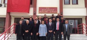 MHP Aydın İl Teşkilatı Buharkent'te ziyaretlerde bulundu