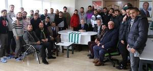 Başkan Akgün'den Büyükçekmece Tepecikspor'a tam destek