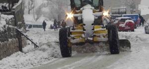 Kulp'ta 35 köy yolu ulaşıma kapandı