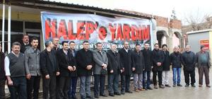 Sason'da Halep için yardım kampanyası başlatıldı