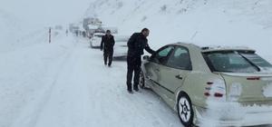 Erzurum - Bingöl yolu ulaşıma kapandı