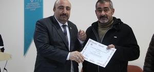 Elazığ'da çiftçilere sertifikaları verildi